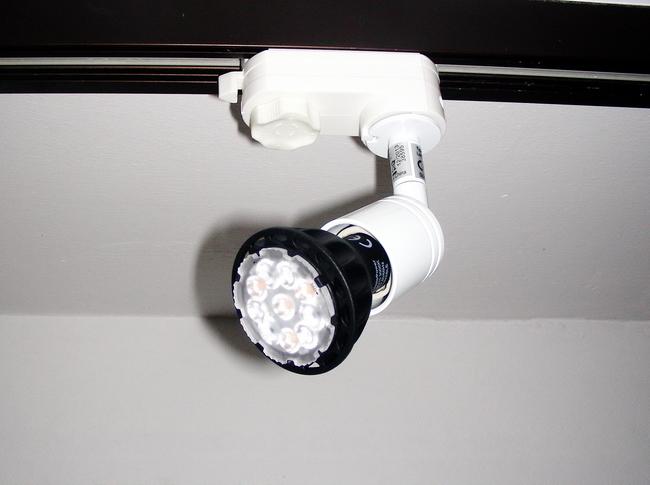 3 phasen mini strahler f r die erco schiene gu10 in wei for Gebrauchte lampen